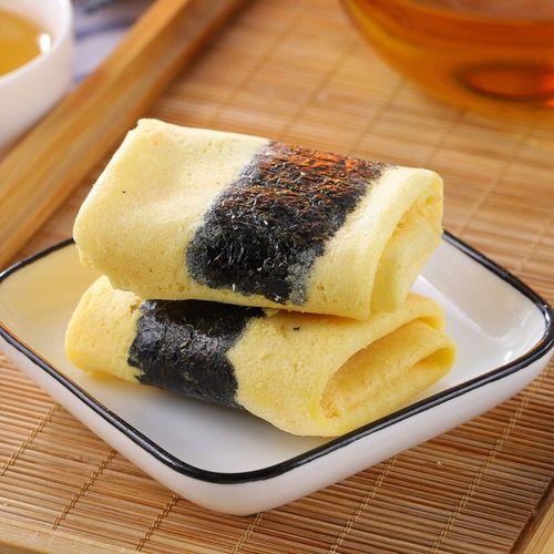 2斤装厦门特产凤凰卷 早餐老式手工蛋卷海苔饼干散装零食小吃 肉松