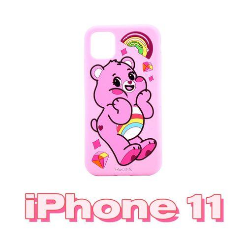 硅胶手机壳全包iphone11pro max 情侣防摔卡通明星同款 苹果11-欢乐熊