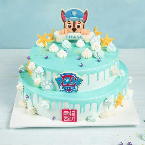 【双层6磅大蛋糕】汪汪队立大功之阿奇(涪陵/綦江)