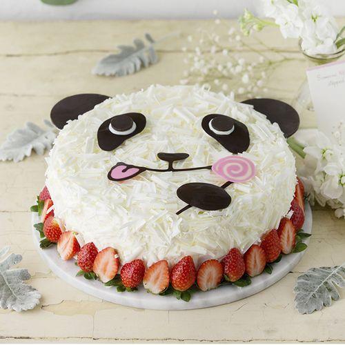 【社群专享】儿童蛋糕-119!熊猫嘟嘟蛋糕-2磅(东莞sq)