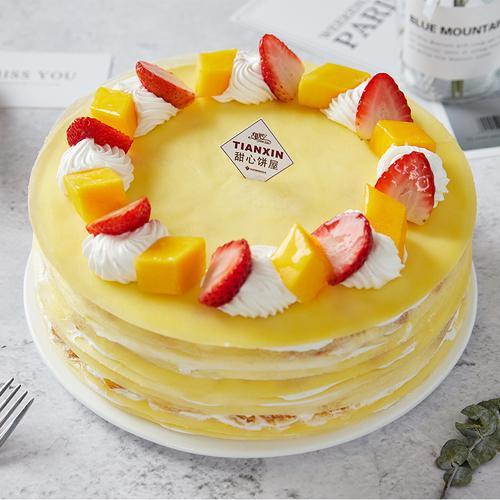 芒果千层 千层蛋糕 88元/磅(1.5磅起订)