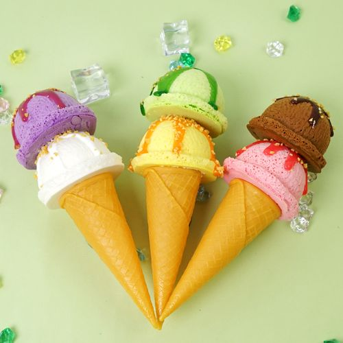 仿真冰淇淋模型假冰淇淋球大甜筒道具玩具甜点雪糕