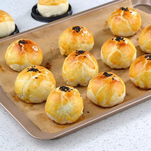 肉松蛋黄酥材料套餐蛋黄豆沙自制中秋月饼肉松豆沙酥