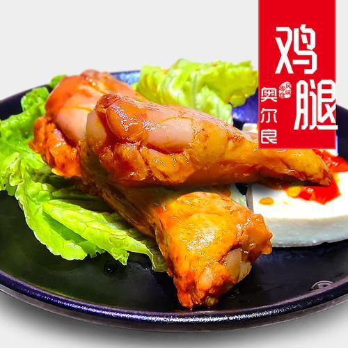 淘品小栈奥尔良蜜烤小鸡腿肉网红零食小吃熟食卤味休闲网红零食