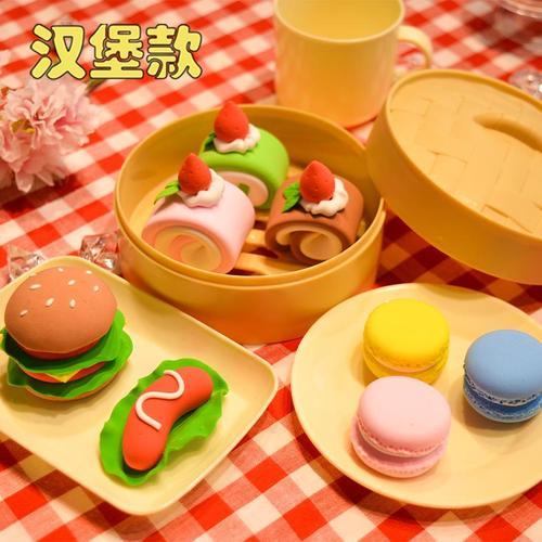 儿童超轻粘土diy仿真食物甜品水果制作材料包幼儿