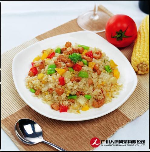 蒸烩煮火腿蛋炒饭300克含米饭直接加热即可食用简餐