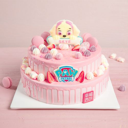 汪汪队立大功之天天-6磅儿童蛋糕(芜湖)
