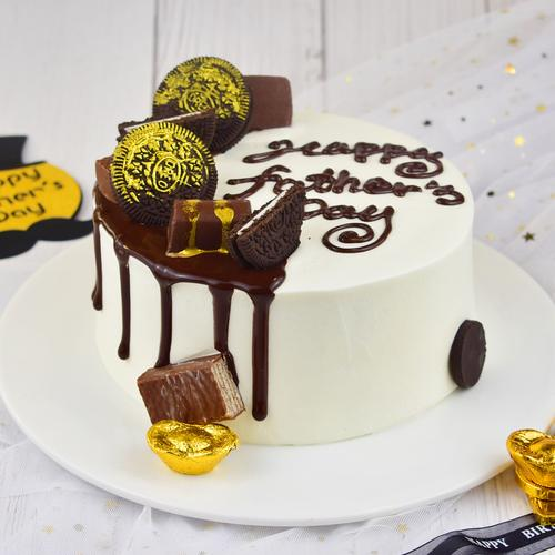 【黑金可可装饰款】——千层蛋糕