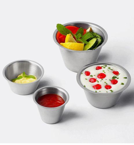 304不锈钢蛋糕杯烘焙模具甜点杯点心杯布丁杯酱汁碗
