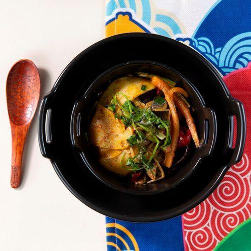 创意日式陶瓷双耳碗餐具水果沙拉碗汤碗大汤盆小烤盘蛋糕烘焙家用鱼汤
