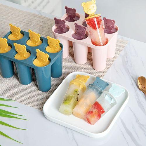 自制雪糕冰激凌模具冰棒冰棍冰糕棒冰冰淇淋冰块冰激凌模具卡通家