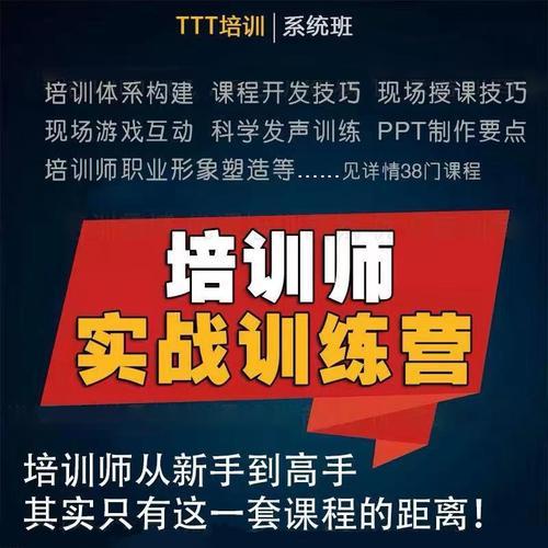 2020年企业内训师讲师培训ttt/ppt培训视频教程授课技巧提升课程