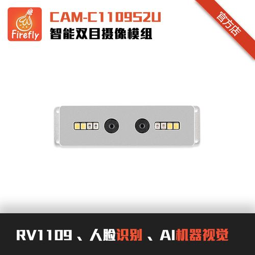 cam-c1109s2u智能双目摄像模组rv1109人脸识别ai机器