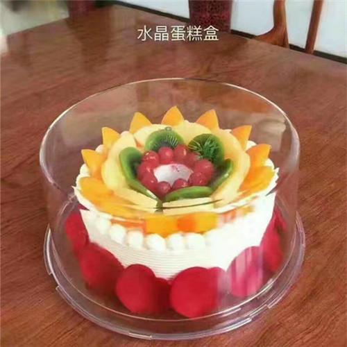 透明塑料蛋糕盒水果慕斯蛋糕盒天地盖盒10寸生日蛋糕盒5个试用装