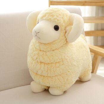 萌萌怪 毛绒玩具羊公仔儿童娃娃小绵羊玩偶女友生日礼物送女生闺蜜
