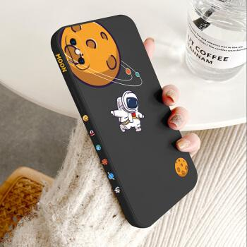 苹果x/xs手机壳 iphonexsmax液态硅胶侧边直边保护软套全包防摔卡通