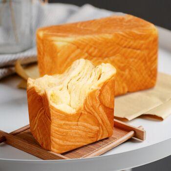 5折 吐司手撕面包奶香味早餐营养学生牛奶土司早点三明治即食 北海道