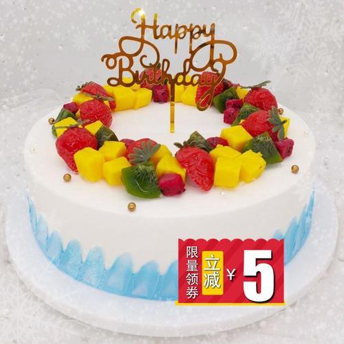 蛋糕模型仿真2021新款网红欧式水果生日假蛋糕塑胶橱窗样品可定制