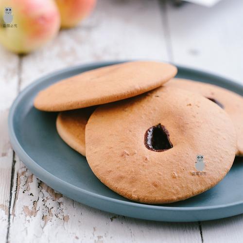 米惦暖心饼两盒装外酥内韧香甜有嚼劲红糖饼干古早味