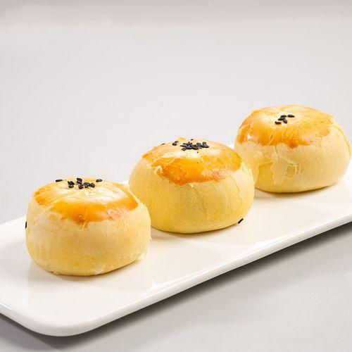麻糍雪媚娘紫薯点心零食小吃面包心休闲食品 紫薯豆沙