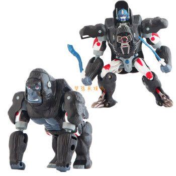 变形玩具金刚美版猛兽侠超能勇士bw日版mp黑猩猩犀牛黄豹恐龙红龙 ta