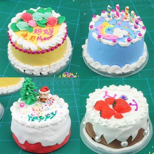 今年新款的纸粘土套装做蛋糕玩彩泥具奶油土儿童手工
