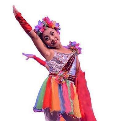 精选六一美丽中国梦儿童演出服少儿表演服啦啦操舞蹈