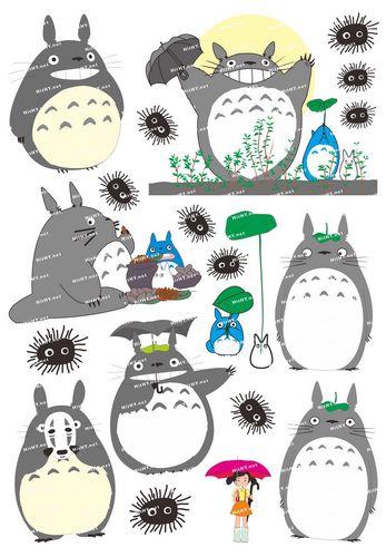 韩国手机手机旅行箱贴纸中号f000703龙猫totoro卡通