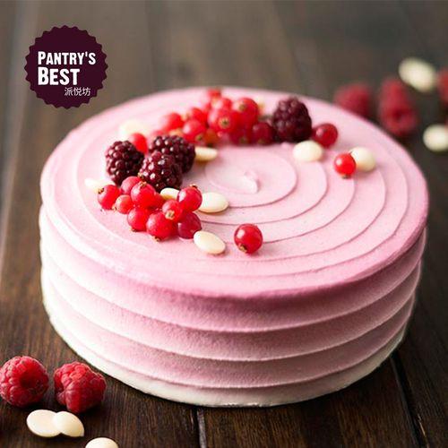 派悦坊树莓红丝绒蛋糕芝士奶油蛋糕水果蛋糕聚会分享