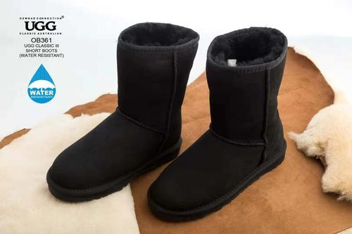 【澳洲直邮】 ozwear ugg 雪地靴 新款中筒防泼水羊皮
