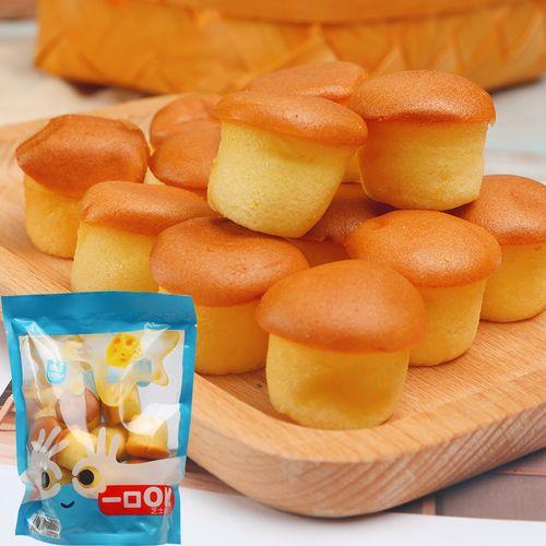 国宇港式鸡蛋仔芝士小蛋糕儿童一口糕点包早餐零食早点 【芝士500g】