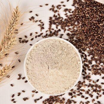 粗粮杂粮面粉 全麦面包粉家用烘焙面粉石磨黑麦面粉500g 500g