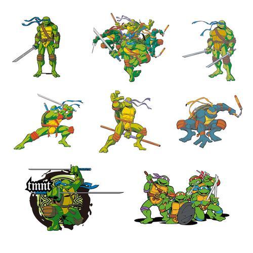 忍者神龟ai矢量素材 动画片卡通动漫角色形象图案