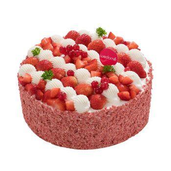 同城配送 店送 水果蛋糕 奶油蛋糕 巧克力味蛋糕酸奶提子夹心