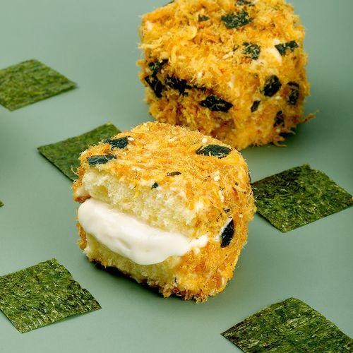 网红海苔肉松小贝爆浆蛋糕早餐面包批发零食非鲍师傅脏脏小贝 海苔