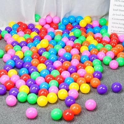 游泳球100个装卧室10cm便捷大号幼儿园海洋球混装大
