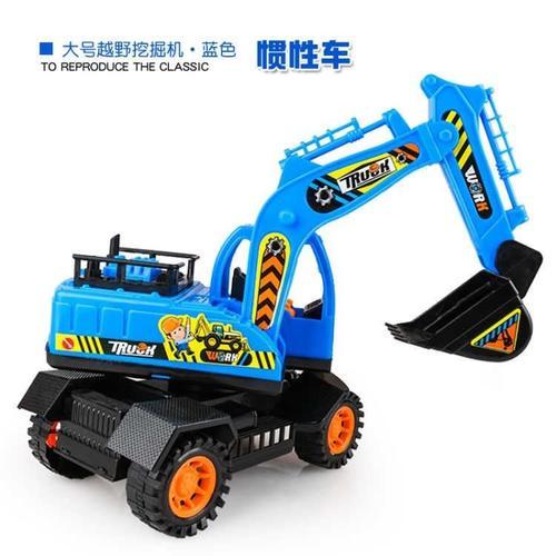 玩具车工程车队宝宝挖挖机玩具汽车模型大号挖土机挖掘机儿童益智