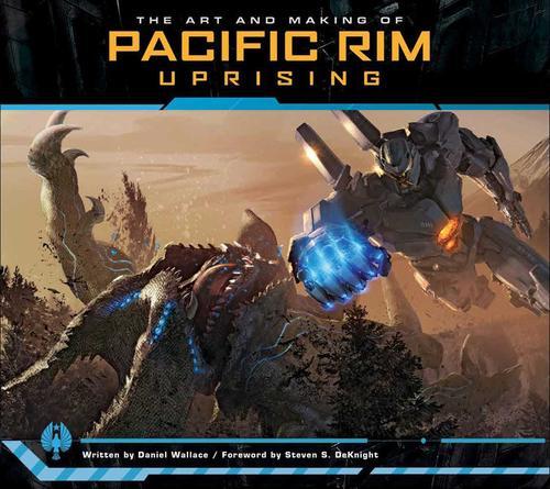 现货英文原版 环太平洋2:雷霆再起设定集 电影艺术精装画册 机体原设
