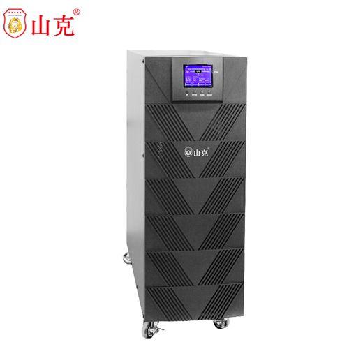 山克 ups不间断电源6000va稳压器4800w外接电池在线式