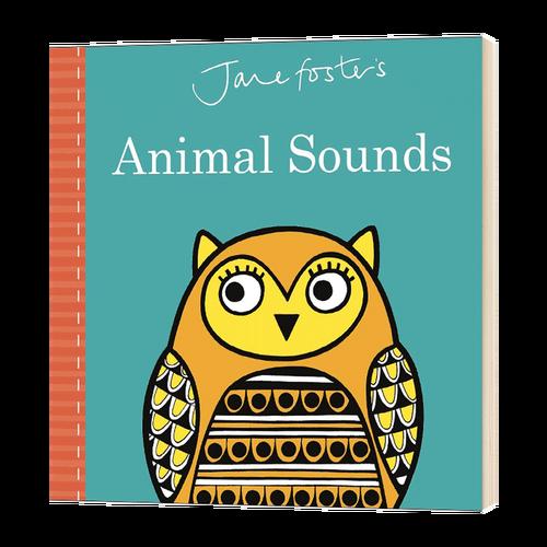 英文原版 jane foster's animal sounds 简福斯特
