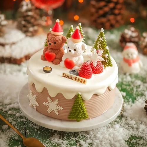 [圣诞款蛋糕大约6英寸*盒】(宜春)