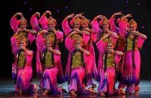 2015年民族舞蹈演出服服装表演服舞台装民族服装