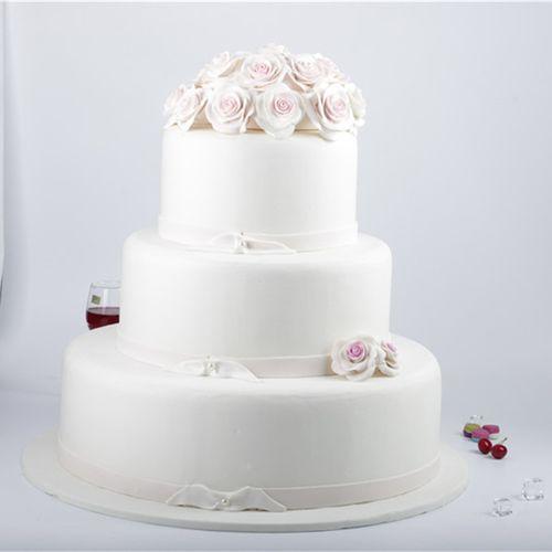厂家直销新款仿真鲜花 翻糖蛋糕婚庆拍摄家居装饰摆设
