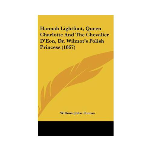 lightfoot, queen charlotte and the chevalier d'eon, dr