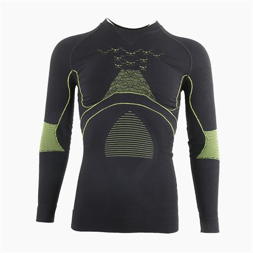 xb健身套装压缩马拉松越野跑秋冬标男定制长袖户外功能运动无衣衣