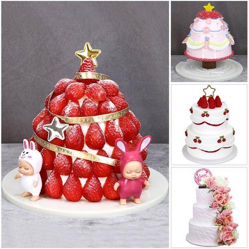 网红蛋糕模型仿真2020新款草莓塔水果生日假蛋糕模具