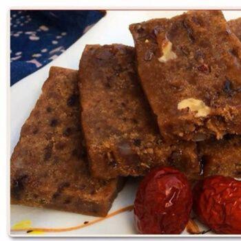 特产小吃糕点纯手工传统糯米糕核桃红枣糕现做现卖 红枣核桃红糖糕 2