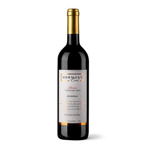 红酒进口 澳大利亚进口干红葡萄酒  2015年珍藏和睦系列 西拉葡萄酒