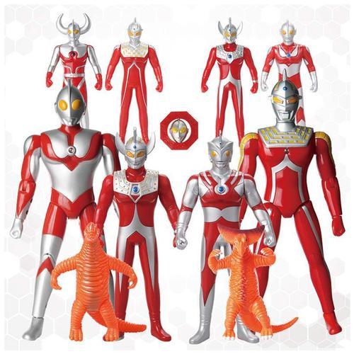 正版庄臣奥特曼变形战车男孩怪兽套装宇宙超人赛文