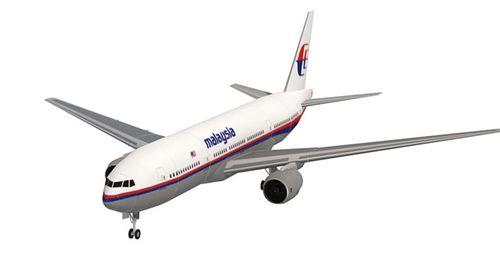 波音boeing777-200马来西亚航空 民航客机飞机1:150 1